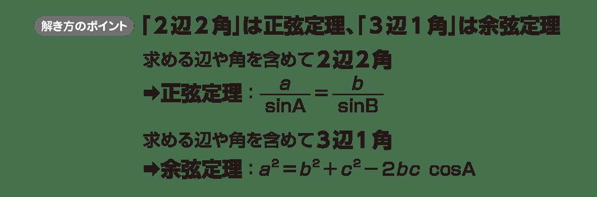 高校数学Ⅰ 三角比26 ポイント