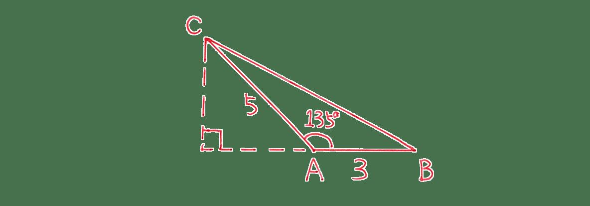 高校数学Ⅰ 三角比29 練習(1)の答え 三角形の図