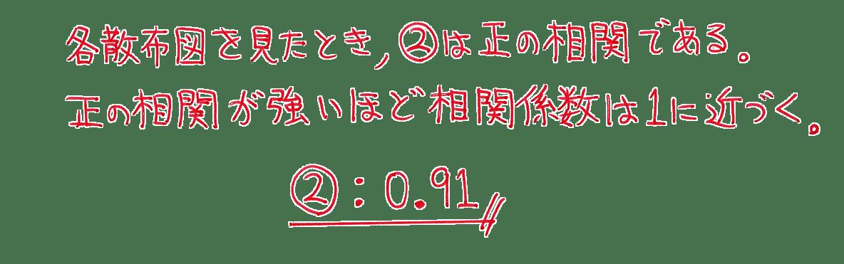 高校数学Ⅰ データ分析13 練習の答え