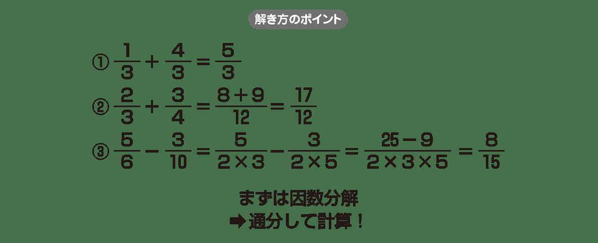 高校数学Ⅱ 式と証明6 ポイント