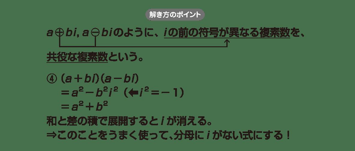 高校数学Ⅱ 複素数と方程式6 ポイント