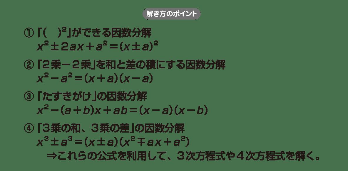 高校数学Ⅱ 複素数と方程式15 ポイント