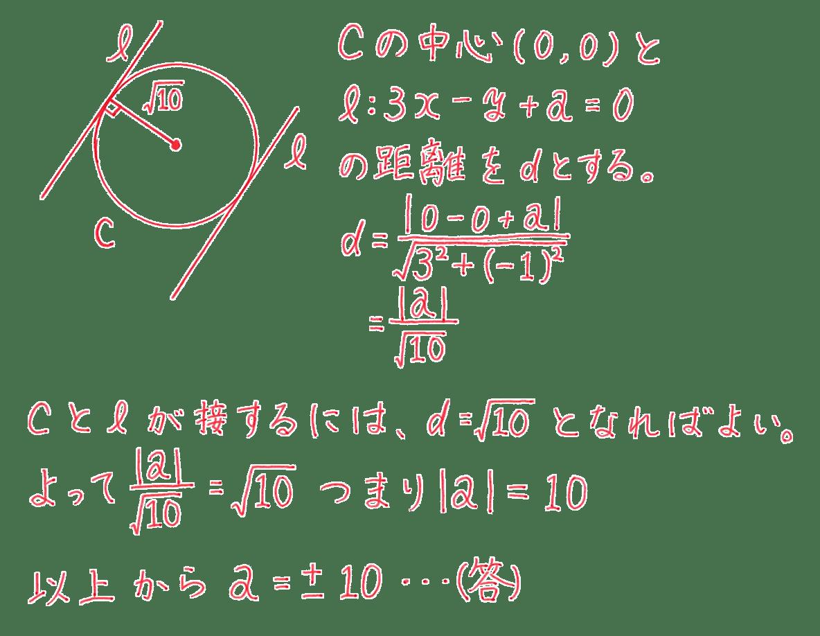 高校数学Ⅱ 図形と方程式23 練習 答え