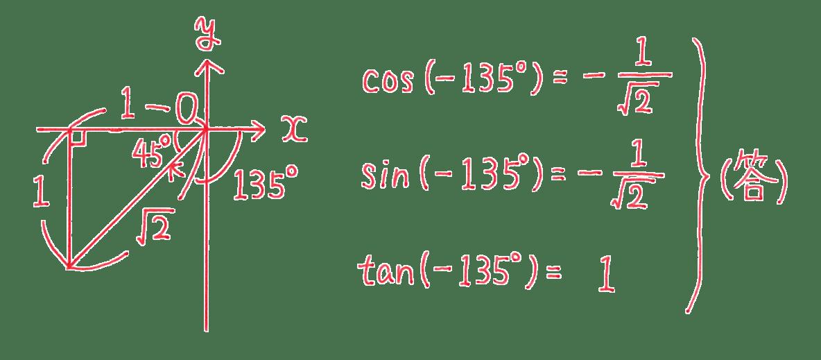 高校数学Ⅱ 三角関数3 練習 答え