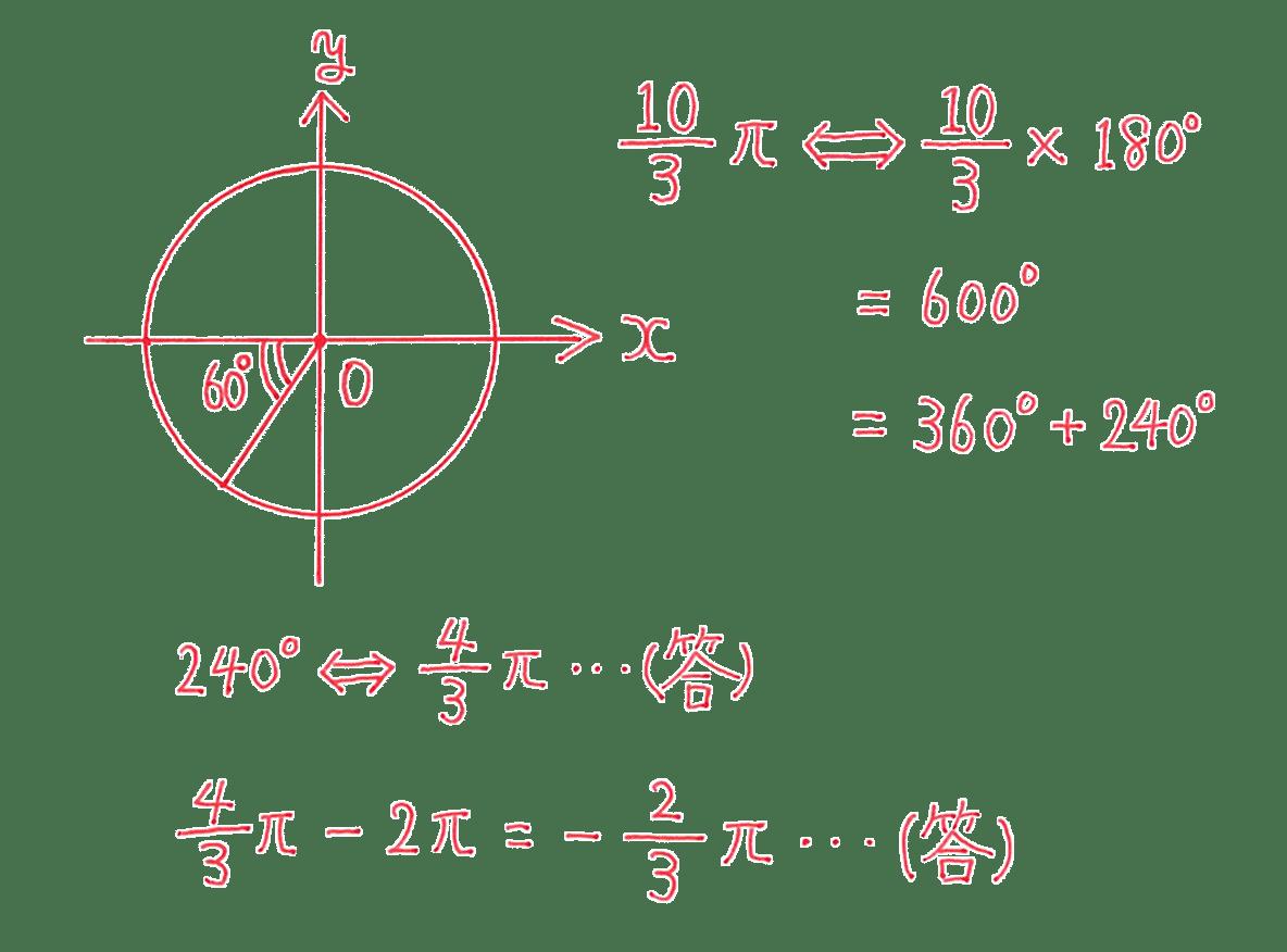 高校数学Ⅱ 三角関数4 練習 答え