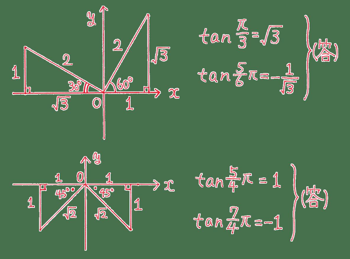 高校数学Ⅱ 三角関数7 練習 答え