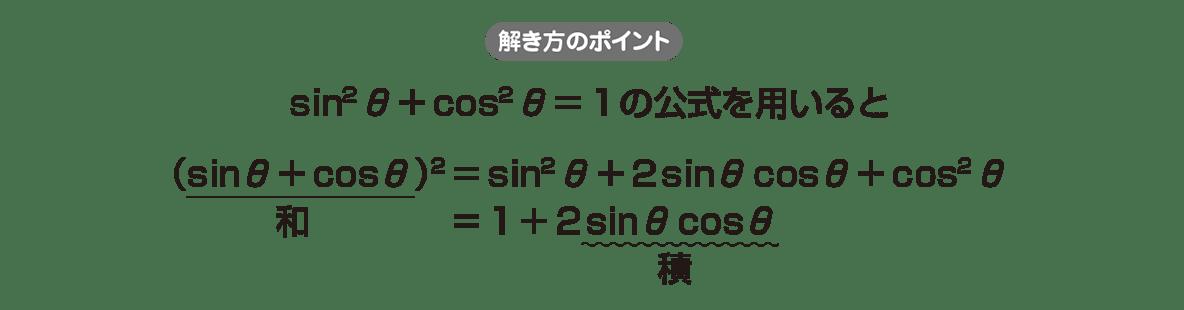 高校数学Ⅱ 三角関数12 ポイント