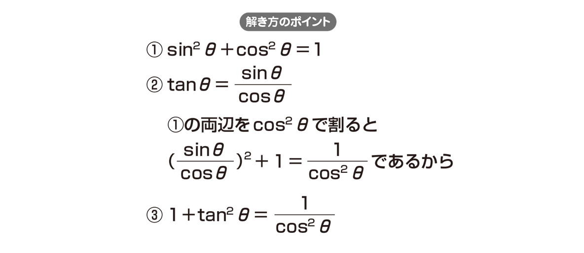 高校数学Ⅱ 三角関数16 ポイント