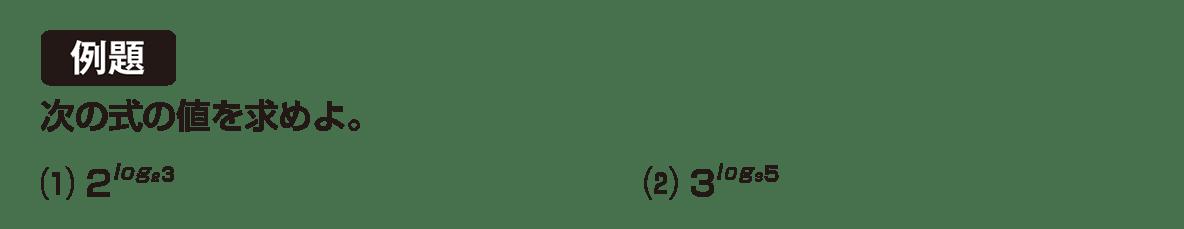 高校数学Ⅱ 指数関数・対数関数16 例題