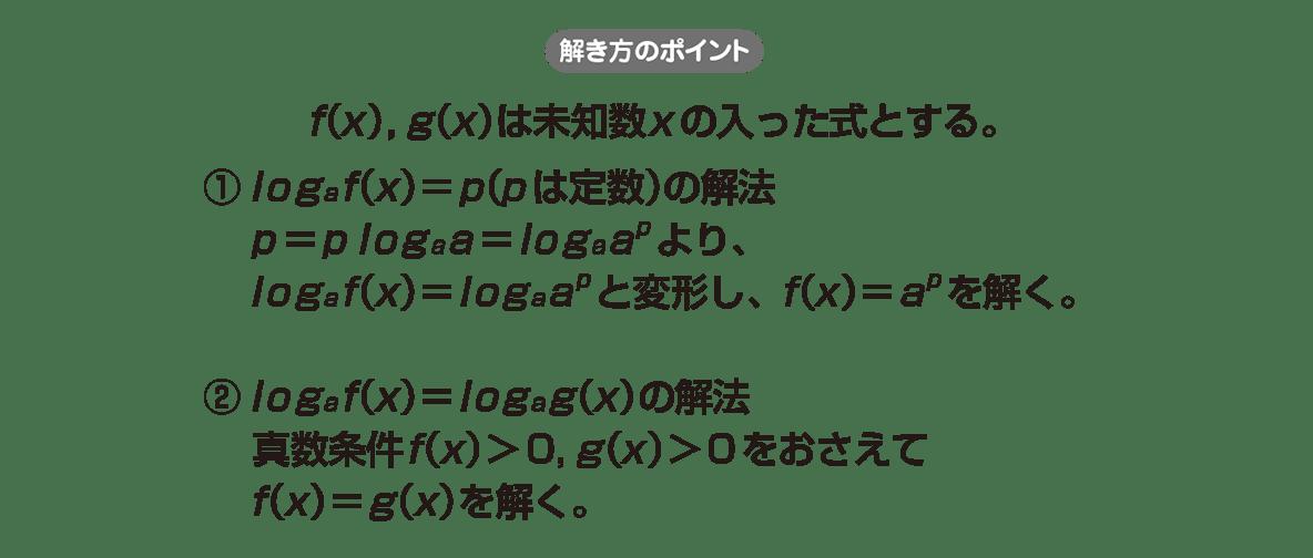 高校数学Ⅱ 指数関数・対数関数17 ポイント
