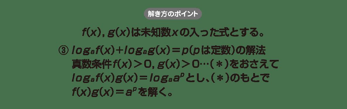 高校数学Ⅱ 指数関数・対数関数18 ポイント