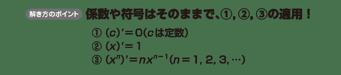 高校数学Ⅱ 微分法と積分法6 ポイント