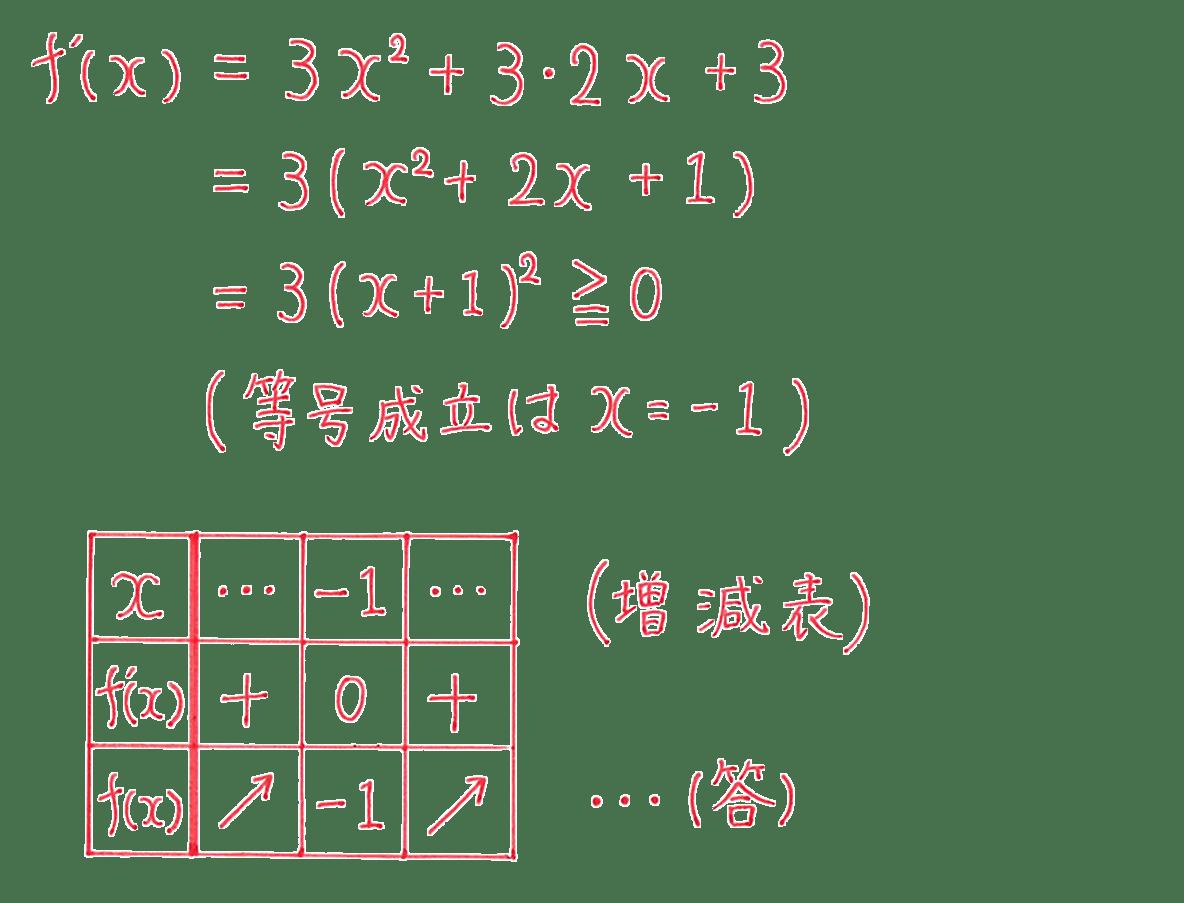 高校数学Ⅱ 微分法と積分法12 練習 答え