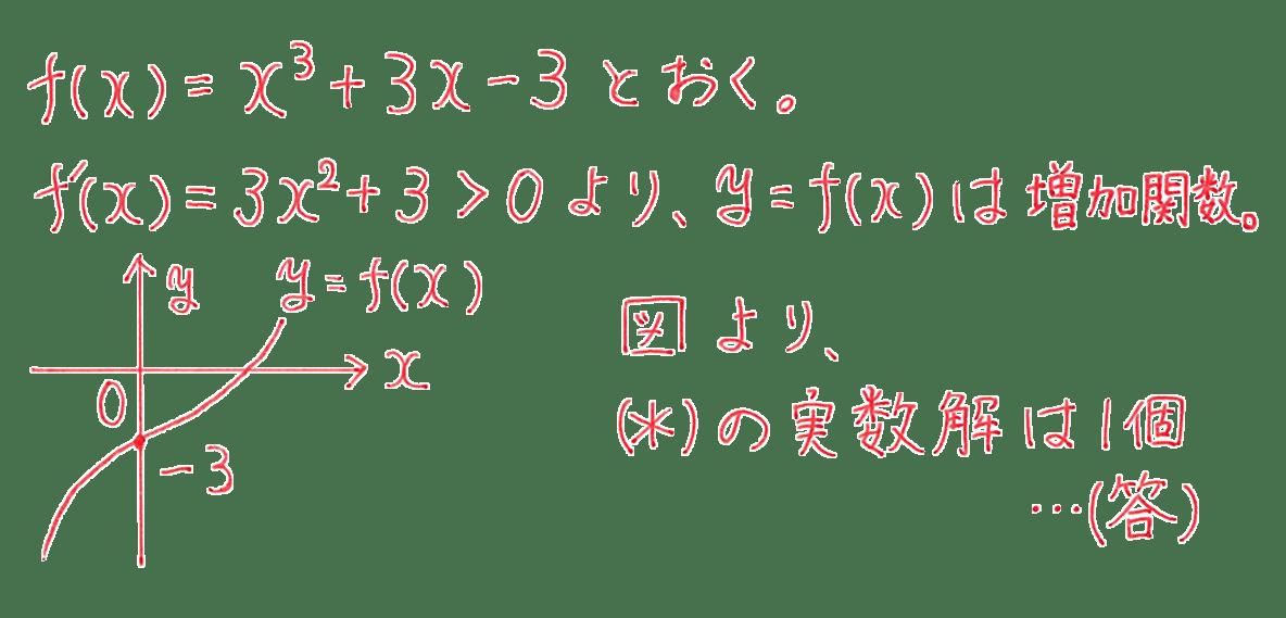 高校数学Ⅱ 微分法と積分法15 例題 答え