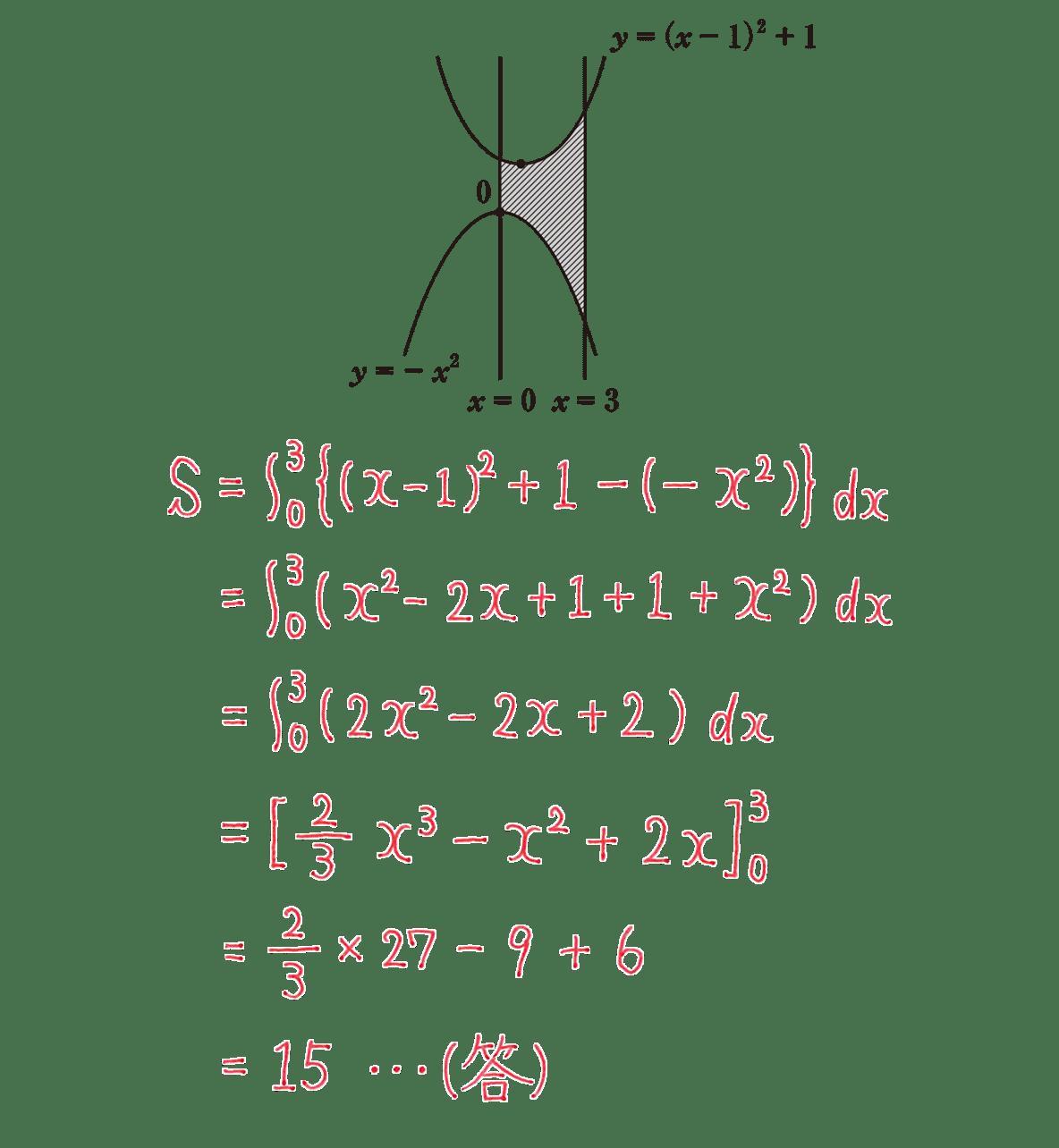 高校数学Ⅱ 微分法と積分法24 練習 答え