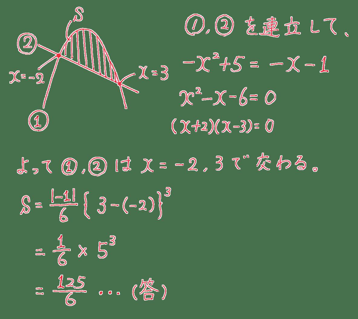 高校数学Ⅱ 微分法と積分法27 練習 答え