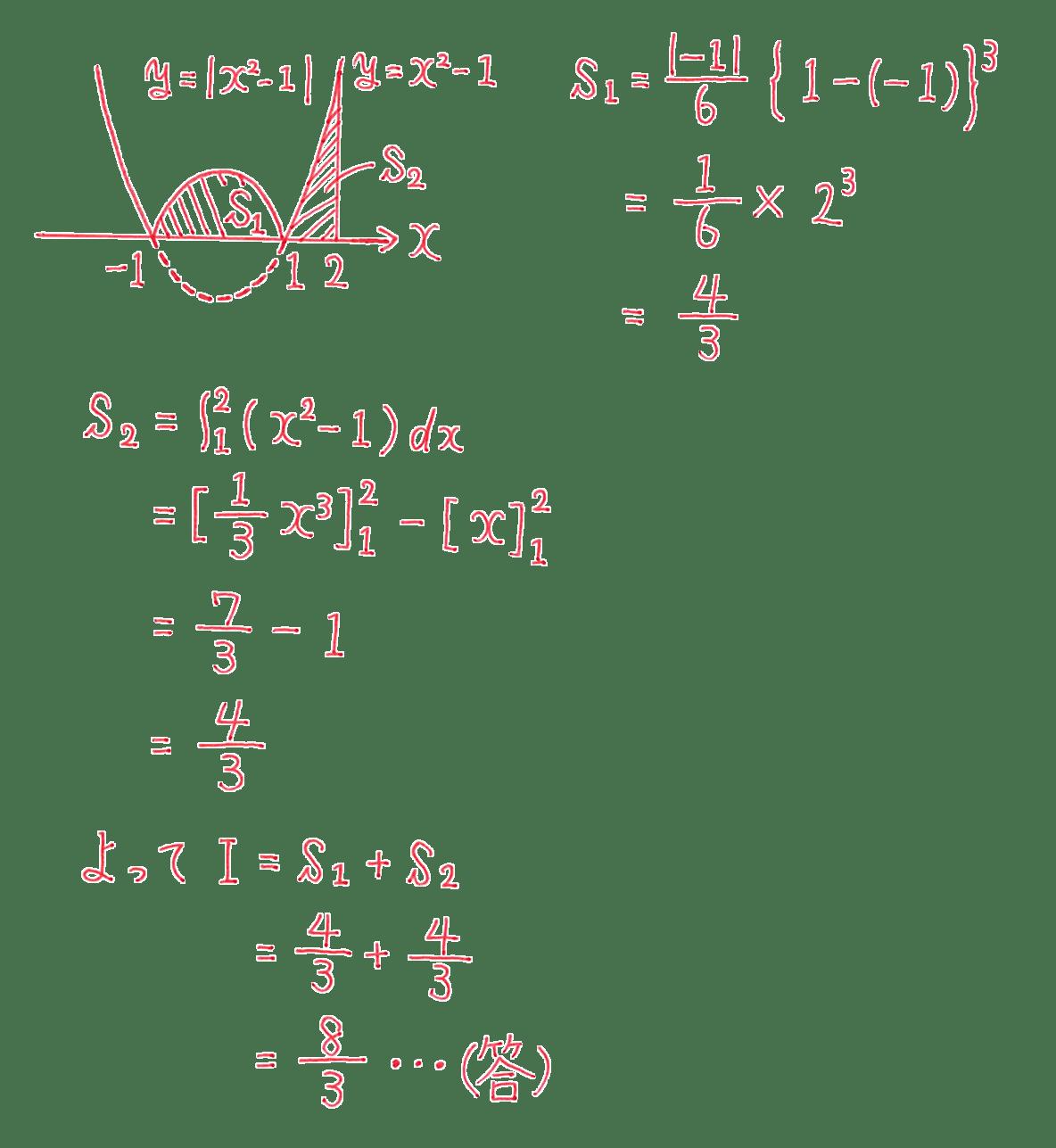 高校数学Ⅱ 微分法と積分法30 練習 答え