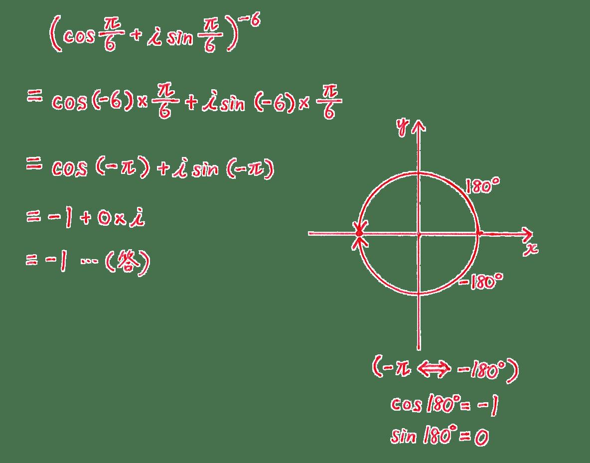 高校数Ⅲ 複素数平面16 問題2 解答
