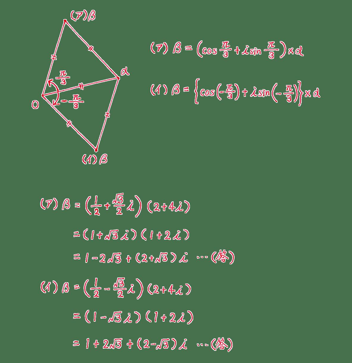 高校数Ⅲ 複素数平面27 問題 答え