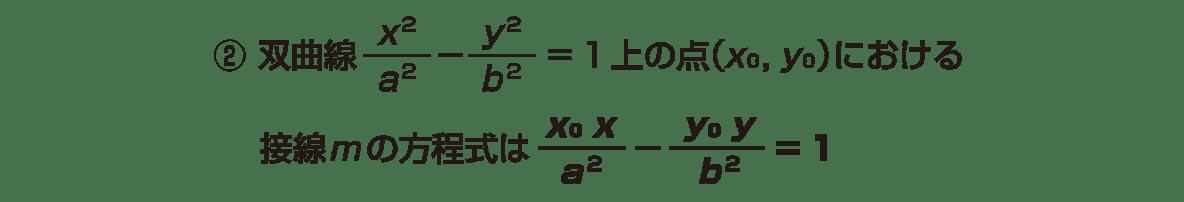 式と曲線19 ポイント②