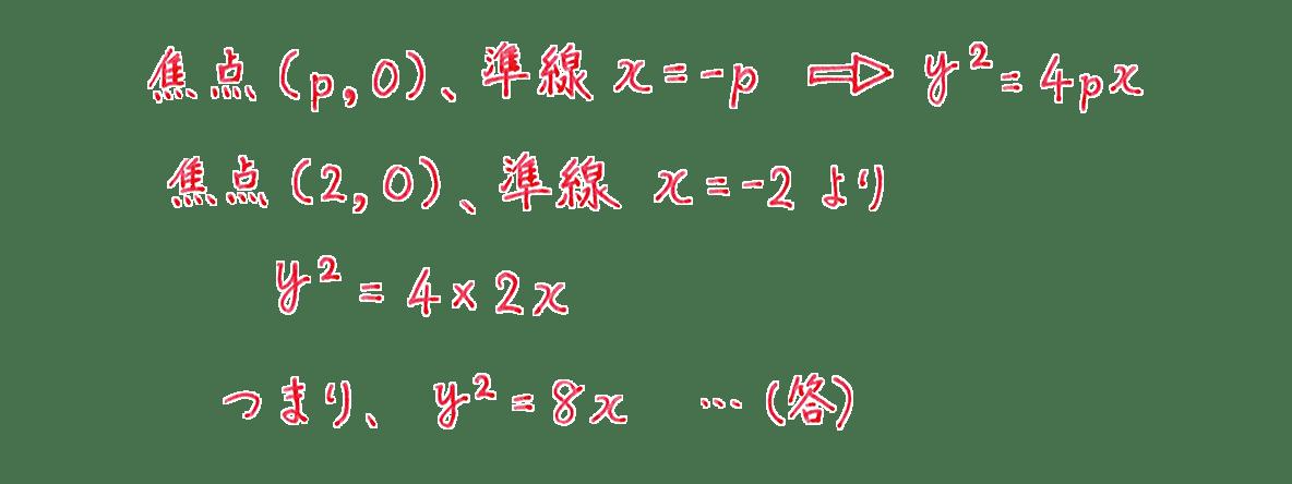 式と曲線1の問題1の解答