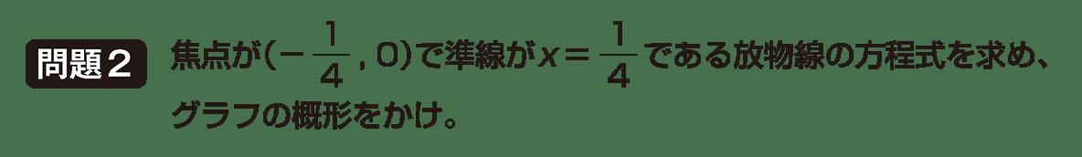 式と曲線1の問題2