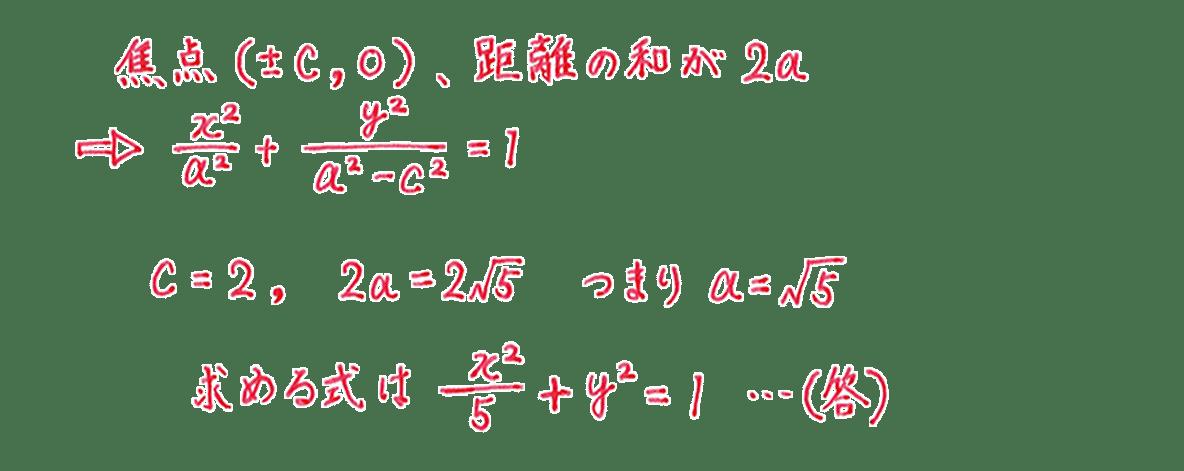 式と曲線4 問題2 解答