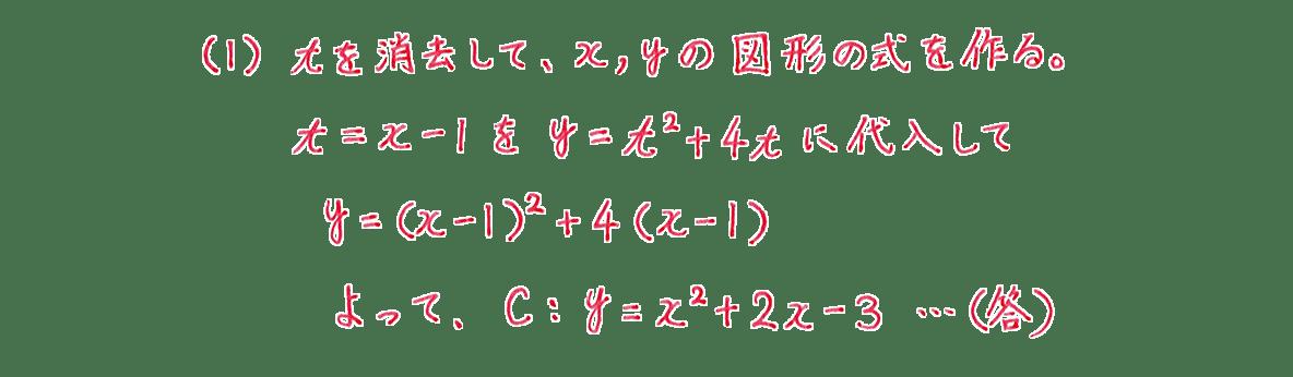 式と曲線21 問題(1)