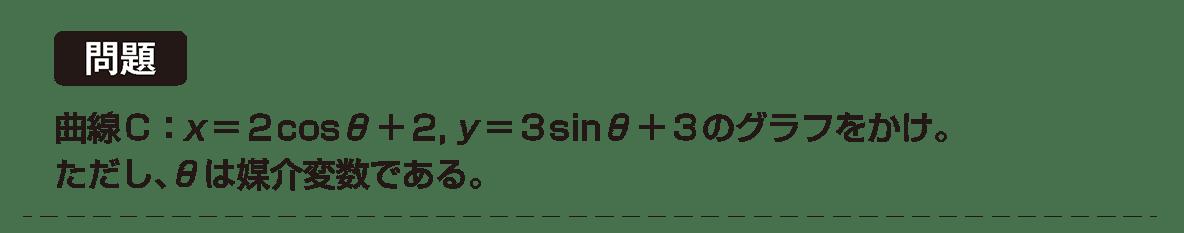 式と曲線22 問題