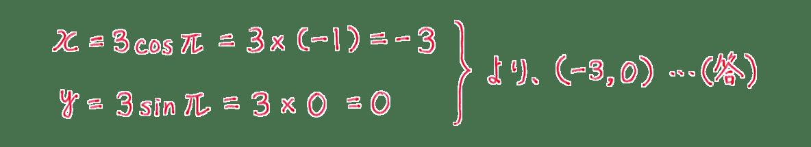 式と曲線24 問題2(2) 答え