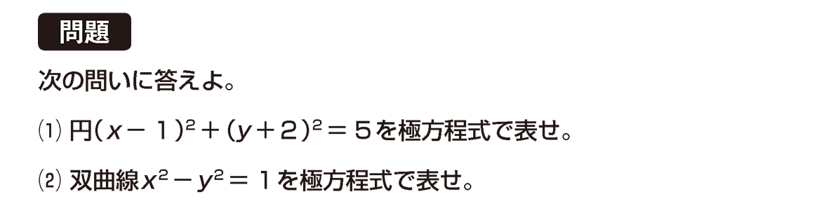 式と曲線28 問題