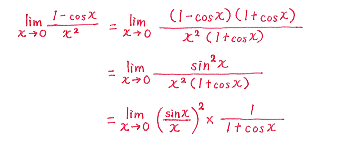 極限32 問題2 解答1~3行目