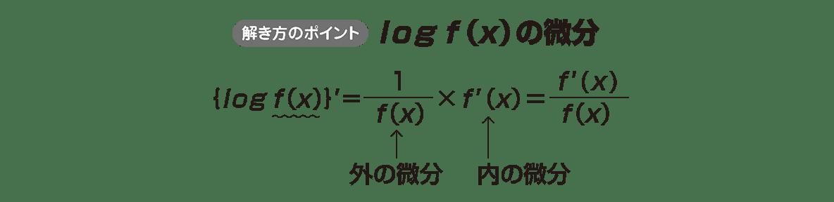 微分法12 ポイント 下の①,②の式をカット