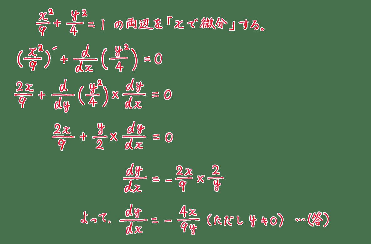 微分法17 問題 答え