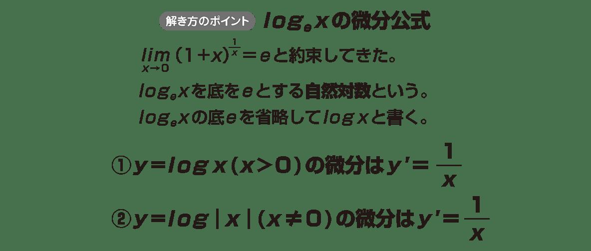 微分法8 ポイント
