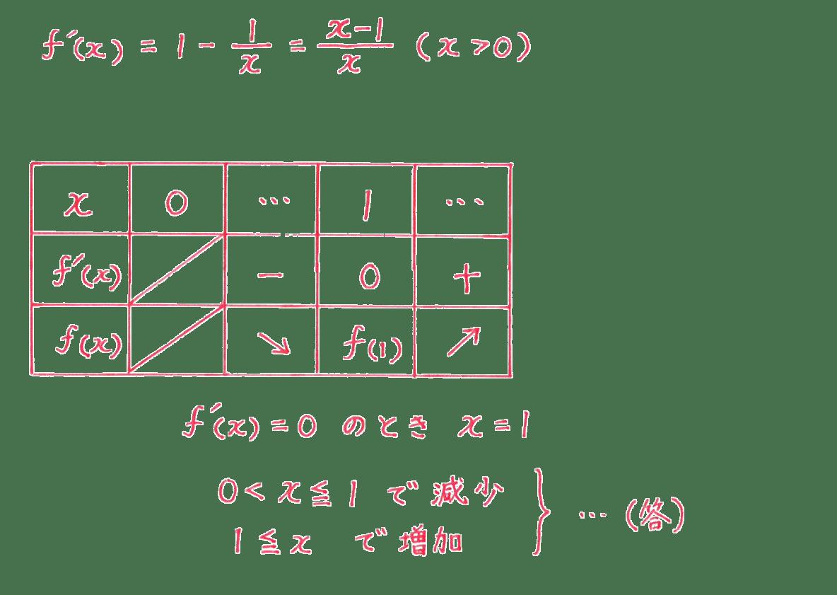 微分法の応用6 問題2 答え
