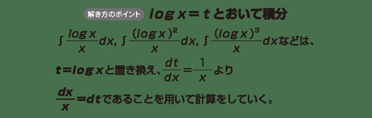 積分法とその応用14 ポイント