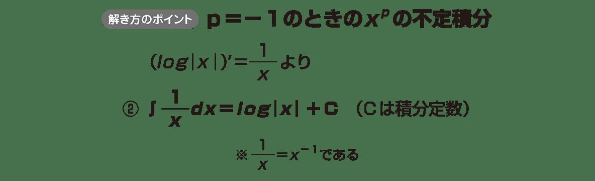 積分法とその応用2 ポイント