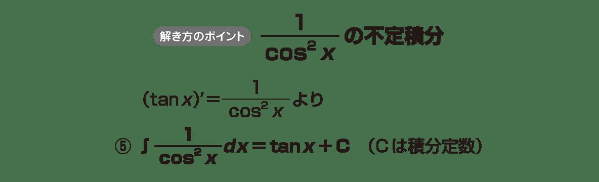 積分法とその応用4 ポイント
