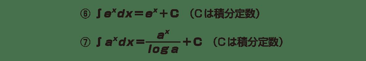積分法とその応用5 ポイント 2行目と4行目