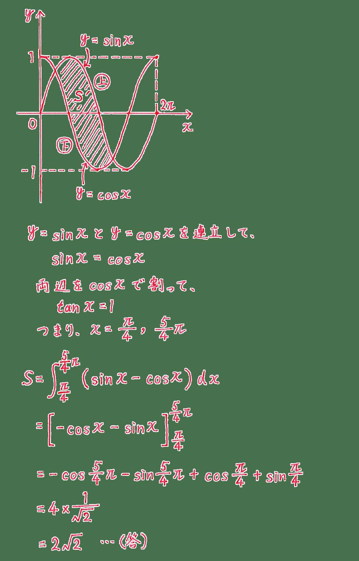 積分法とその応用36 問題 答え すべて