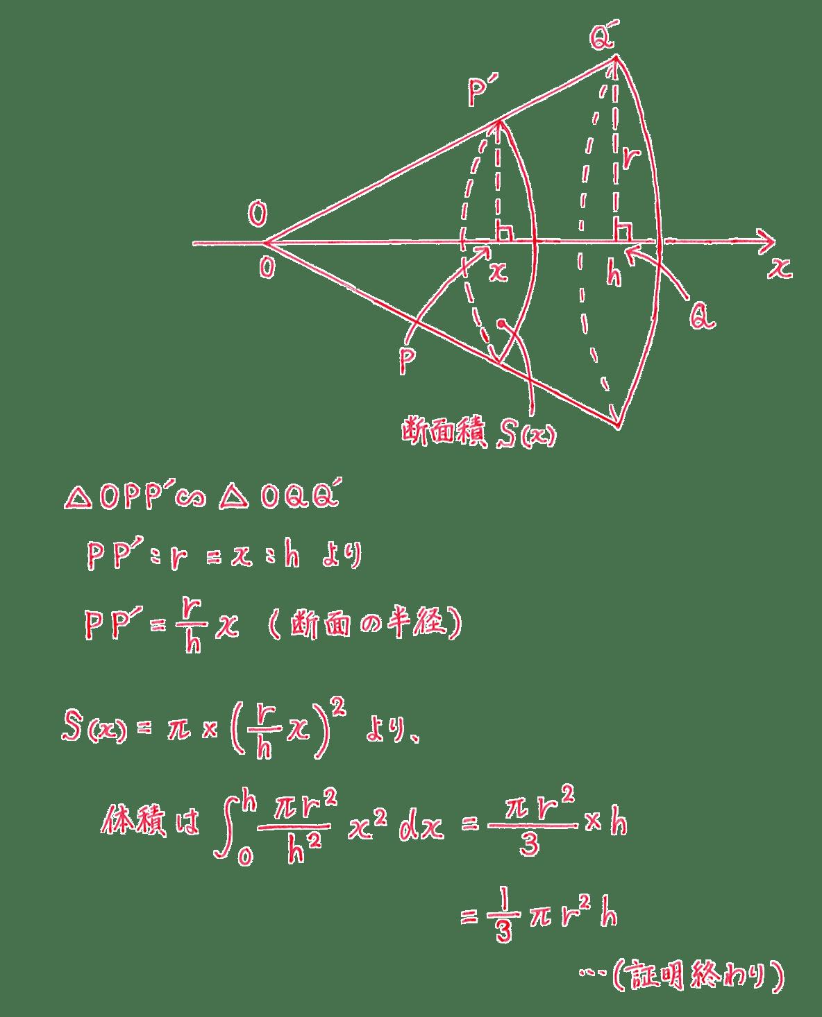 積分法とその応用41 問題2 答え