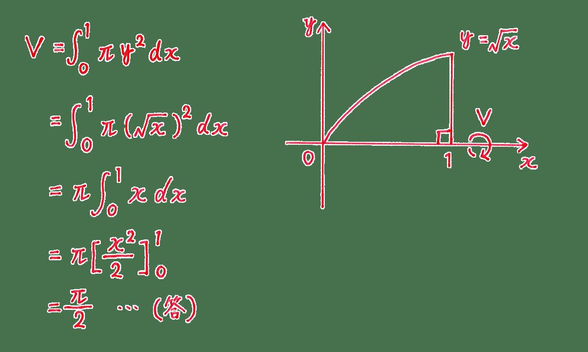 積分法とその応用43 問題1 答え