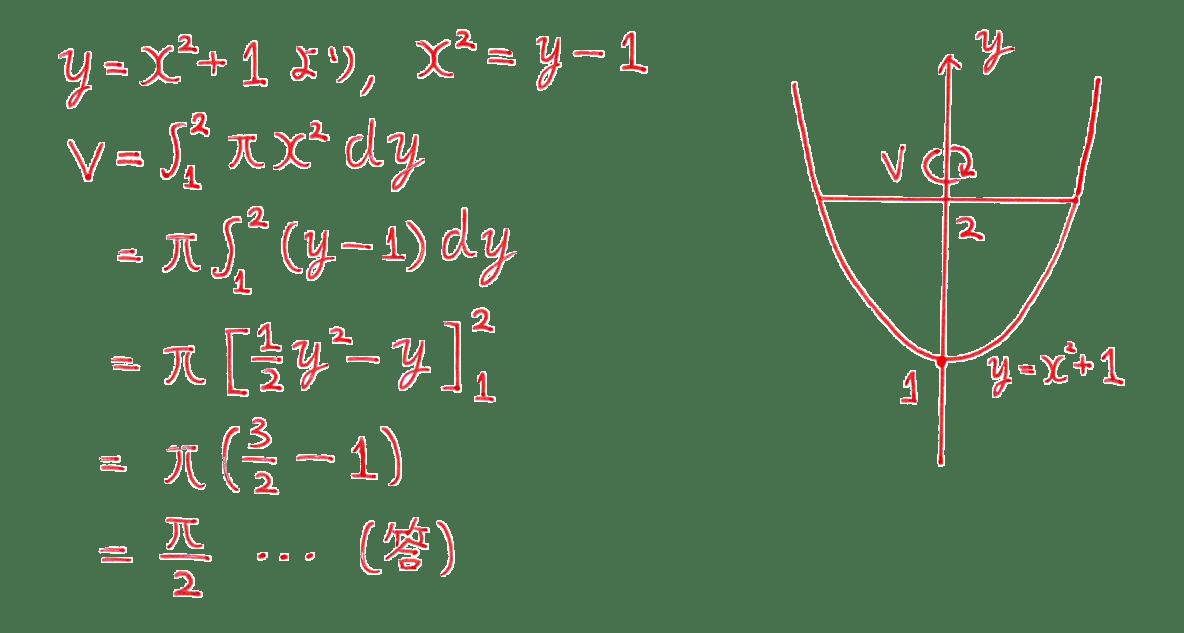 積分法とその応用44 問題1 答え