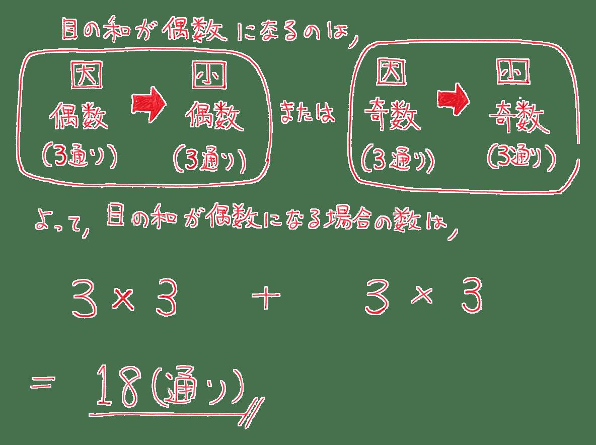 高校数学A 場合の数と確率11 練習の答え