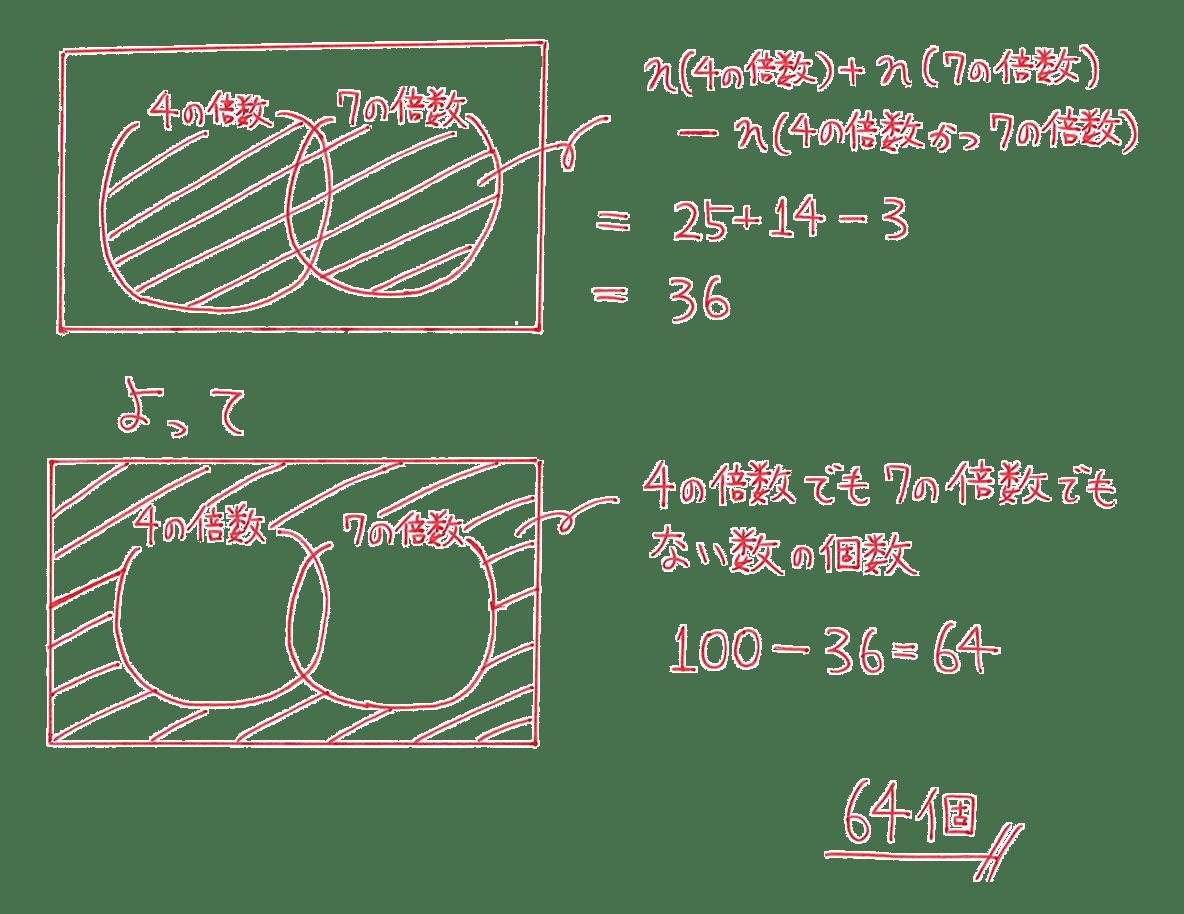 高校数学A 場合の数と確率5 練習の答え