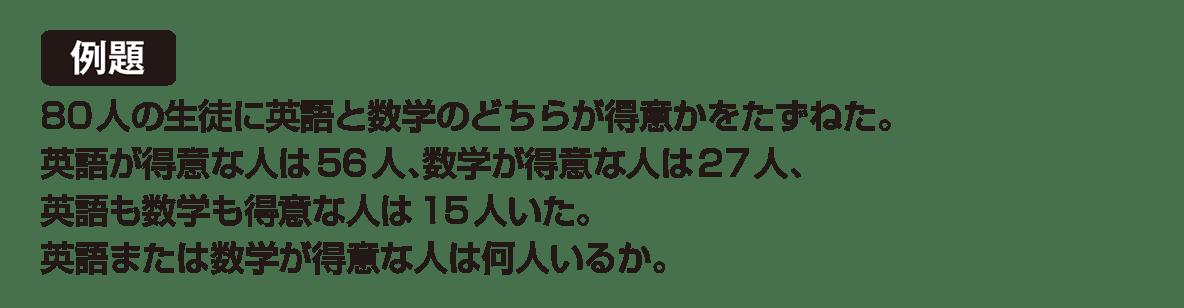 高校数学A 場合の数と確率6 例題