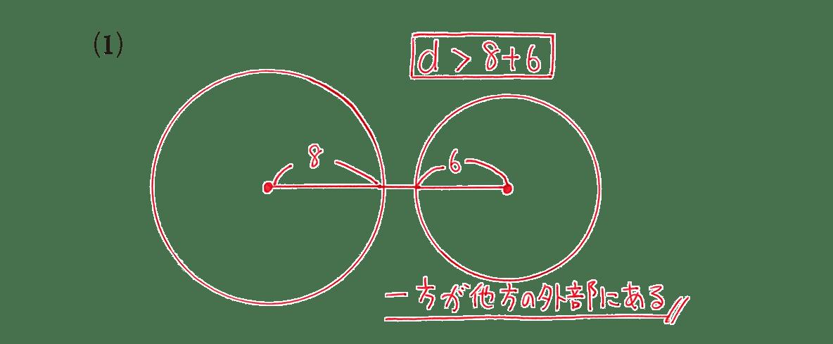 高校数学A 図形の性質34 例題(1)の答え