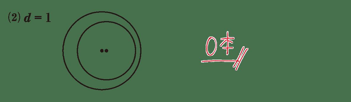 高校数学A 図形の性質35 練習(2)の答え