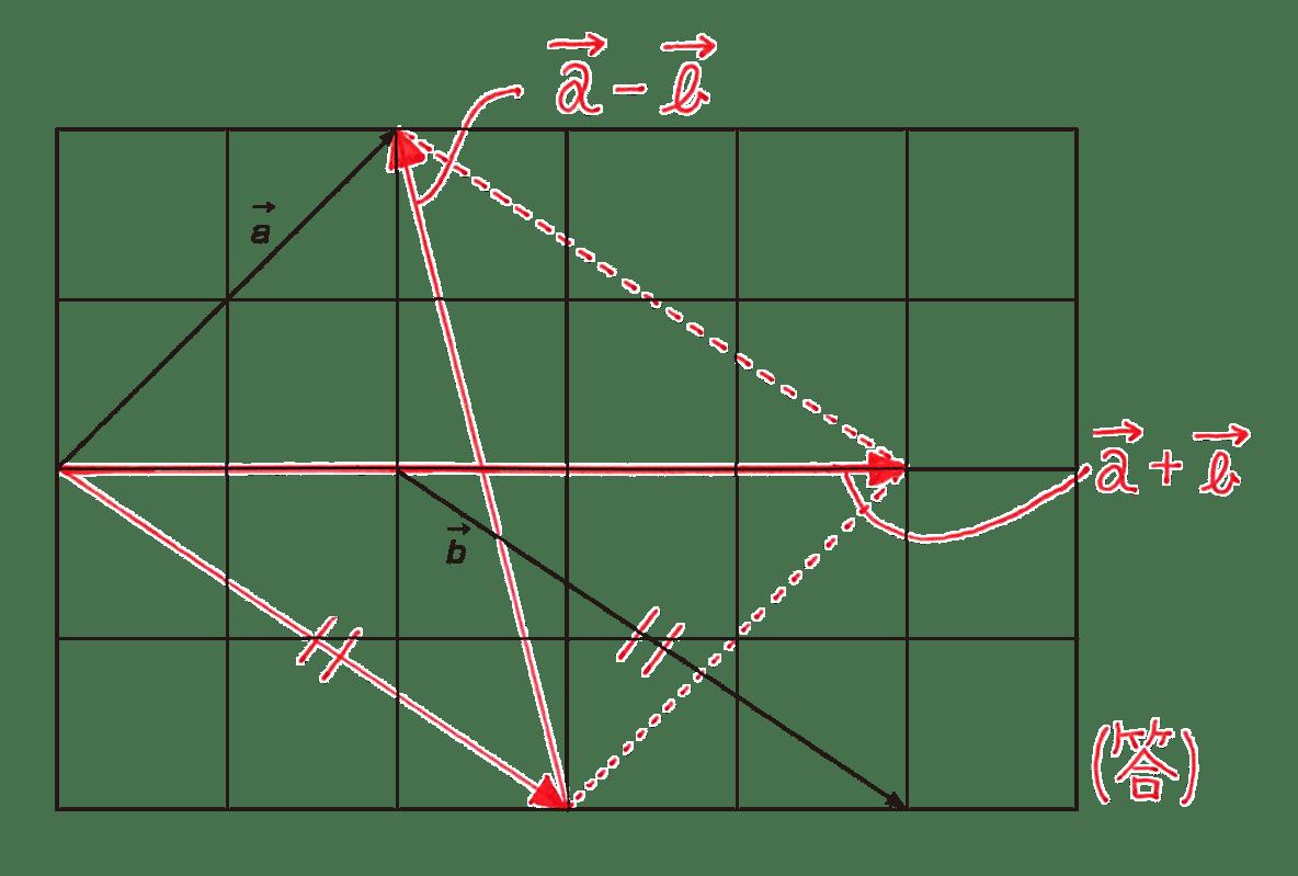 高校数学B ベクトル4 例題 答え